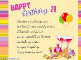 21st birthday wishes messages and 21st birthday card wordings on