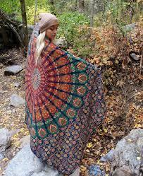 Where To Get Cheap Tapestry Peacock Mandala Throws Mandala Tapestry Wall Hanging Indian