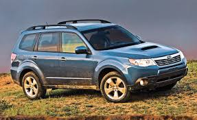 really small cars 2009 subaru forester 2 5x upscale interior huge back seat and