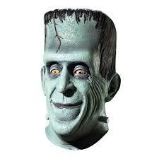 Radioactive Halloween Costume Munsters Herman Munster Overhead Latex Mask Herman Munster
