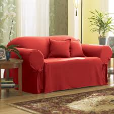 Surefit Sofa Slipcovers by Fit Solid Duck Cloth Sofa Slipcover