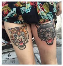 panther thigh by zmierzloki