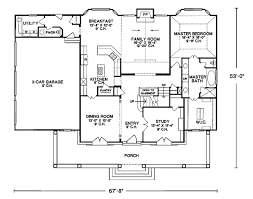 cape house floor plans house plan 99425 at familyhomeplans com