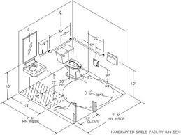 Average Bathroom Size Ada Bathroom Stall Dimensions Bathroom Dimensions Together With