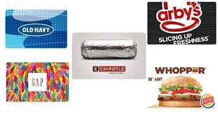 fast food gift cards hot 20 00 navy gap gift cards 5 00 20 00 fast food gift