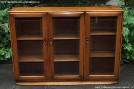 Ercol Windsor Sideboard For Sale Ercol Windsor Golden Dawn Bookcase Cd Dvd Cabinet Sideboard For