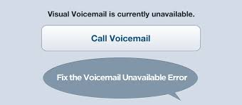 visual voicemail not working android visual voicemail currently unavailable error on iphone how to fix