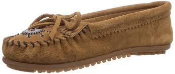 minnetonka women u0027s for hello kitty kilty mocassins brown shoes