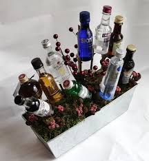 liquor gift baskets a gift basket of booze try it you might like it