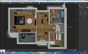 Autodesk Floor Plan Home Interior Floor Plan 02 3d Model Cgtrader