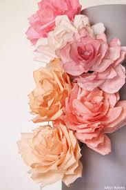 Paper Roses Diy Paper Rose Cake
