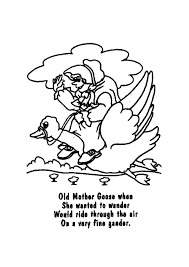 little bo peep nursery rhyme coloring page in coloring pages eson me