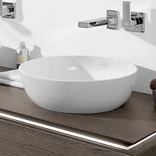 artis round counter top basin by villeroy u0026 boch just bathroomware