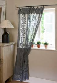 annie sloan tips and techniques making up dyed lace curtains
