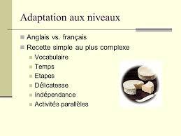 vocabulaire recette de cuisine utiliser la cuisine française pour enseigner la langue et la culture