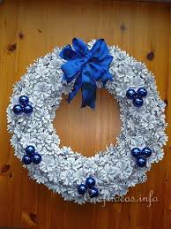 pine cone wreath christmas craft project pinecone wreath