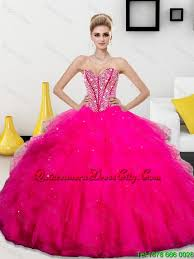 quinceanera dresses 2016 fashionable beaded and ruffles sweetheart 2016 quinceanera dresses
