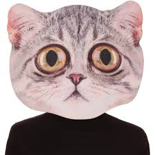 big eye cat mask halloween accessory walmart com