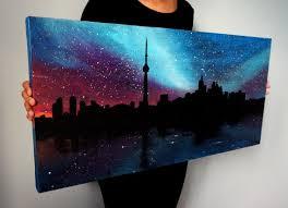 best 25 skyline painting ideas on pinterest city art painting