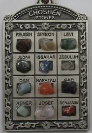12 tribes stones 12 tribes of israel hoshen choshen stones artistic ornament wall