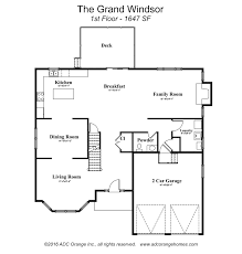 Windsor Homes Floor Plans by Grand Windsor New Home In Orange County Ny