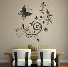 Simple Bedroom Wall Paint Designs Painting Design Flower Stylish - Wall design in bedroom