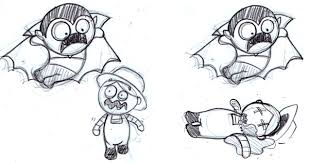 unpublished sketches for our game zmvw reigndesign blog