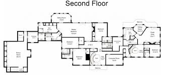 colonial home floor plans 6 995 million 12 000 square foot georgian colonial mansion in new
