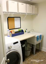 Deep Sinks For Laundry Rooms by The Laundry Room Making It Work The Homes I Have Made