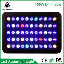 aquarium lights for sale best sale newest dimmable 165w 300w led aquarium light high quality