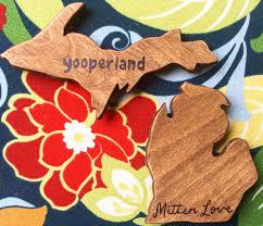 michigan gift idea handmade home decor from wood by al wading