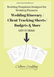templates for wedding planners and event professionals culture
