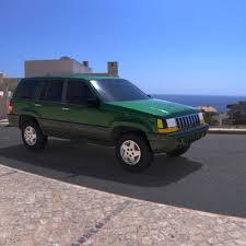94 jeep grand jeep grand 94 3d cgtrader