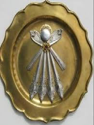 www marymaxim catalog25th anniversary plate shabby vintage spoon angel assemblage chic antique white frame