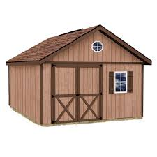 Outdoor Shed Kits by Best Barns Brandon 12 Ft X 12 Ft Wood Storage Shed Kit