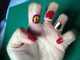 ferrari quick u0026 easy nails and nail design art tutorial 2013 youtube
