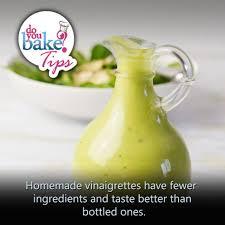 homemade vinaigrettes u2013 do you bake