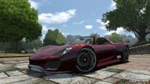 porsche concept 918 spyder porsche 918 spyder concept epm download cfgfactory