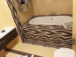 bathroom designs extraordinary zebra print bathroom ideas tub