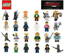 lego minifigure ninjago movie all new and genuine ebay