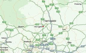 map uk harrogate map uk harrogate major tourist attractions maps