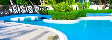 swimming pool swimming pool at the backyard nila homes