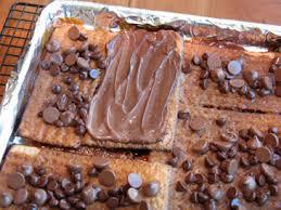 chocolate caramel matzo for passover updated u2013 zoe bakes
