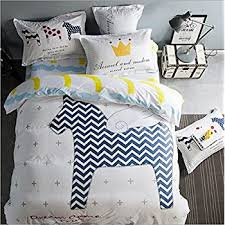 amazon com full queen animal duvet cover set with 2 pillowcases