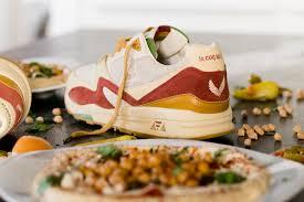 le coq cuisine sneakerbox tlv x le coq sportif r800 hummus 24 kilates