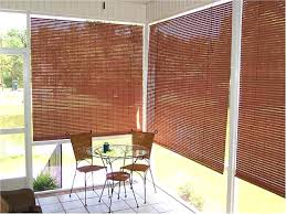 Bamboo Blinds For Porch by Window Blinds Outside Blinds For Windows Home Depot Bamboo