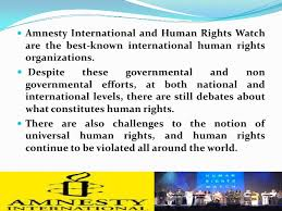 international organizations for human rights human rights 1st lecture presentation
