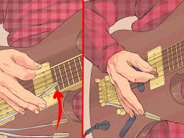 how to use a guitar whammy bar 12 steps with pictures wikihow