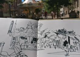 the gang is in town monthly sketch meeting place saint thomas