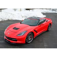 stingray corvette corvette c7 stingray grand sport z06 acs c7 front splitter 45 4 003